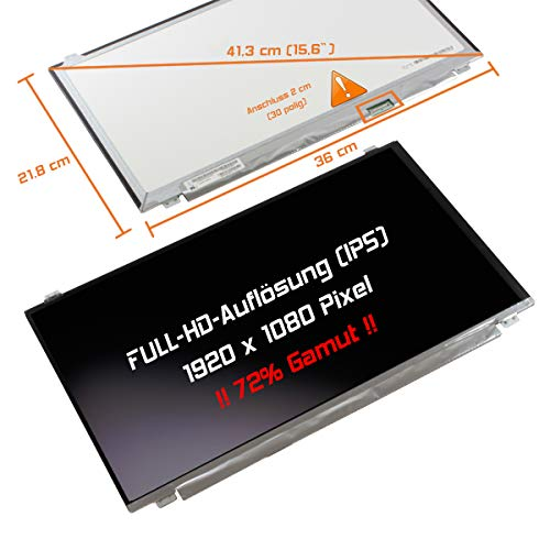 "Laptiptop 15,6"" LED Display matt passend für IPS 72% Gamut MSI GP62VR 7RF Serie Bildschirm Full-HD von Laptiptop"