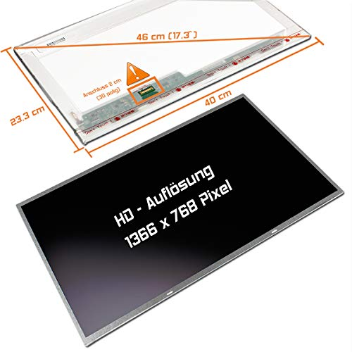 "Laptiptop 17,3"" LED Display Screen matt Ersatz für Acer Aspire ES1-732-P9UZ 1600x900 Bildschirm Panel von Laptiptop"