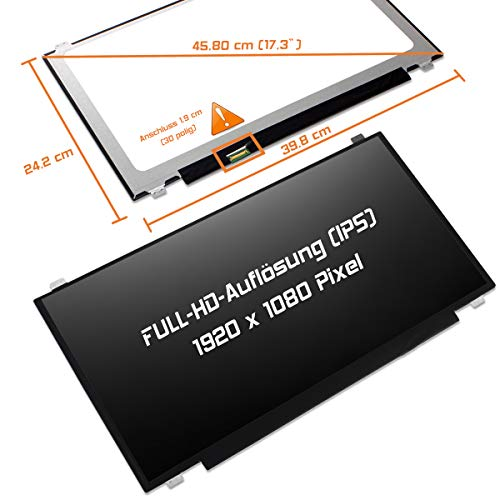 "Laptiptop 17,3"" LED Display Screen matt Ersatz für MSI GT72S 6QF Dragon Edition G 1920x1080 Bildschirm Panel von Laptiptop"