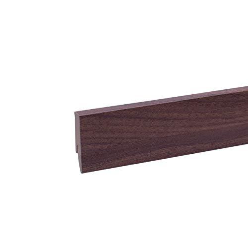 25m Sockelleisten 60mm All Inclusive Paket Eiche