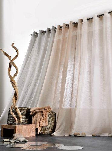gardinen deko gardinen wei mit sen gardinen. Black Bedroom Furniture Sets. Home Design Ideas