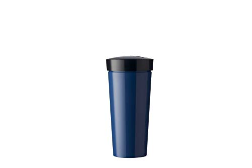 Mepal Nordic Denim Becher take a Break 400 ml, Plastik, 8 x 8 x 16.5 cm von Mepal