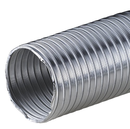 100mm Alurohr Flexible aluminium Rohr Flexschlauch Schlauch Aluminium Aluflexrohr flexibles Aluminiumrohr Aluflex Hitzebest/ändig 3m Flexrohr /Ø 100 mm