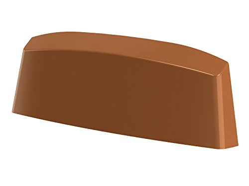 10er Pack Wasserschlitzkappen Fensterentw/ässerung 45mm in verschiedenen Farben by MS Beschl/äge/® Grau - RAL 7000