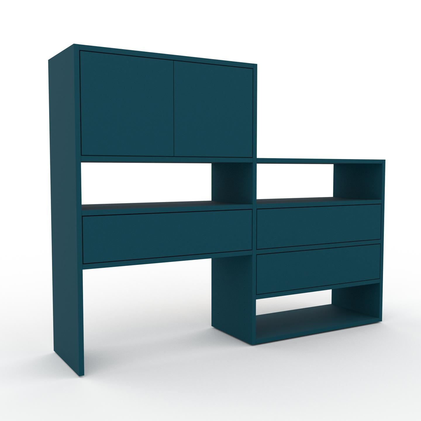 blau regalsysteme und weitere regale g nstig online. Black Bedroom Furniture Sets. Home Design Ideas