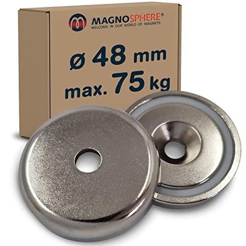 Starke Magnete f/ür Industrie und Zuhause Innen-Gewinde: M3x5 bis M12x14 Haftkraft bis 170kg Stabgreifer Magnet Neodym Haltemagnet Innengewinde M4x7 Neodym N35 Gr/ö/ßen:/Ø 13 NdFeB - Durchmesser: /Ø 6 bis /Ø 63mm