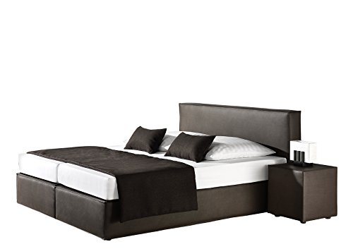 grau boxspringbetten in 140 x 200 cm und weitere boxspringbetten g nstig online kaufen bei. Black Bedroom Furniture Sets. Home Design Ideas