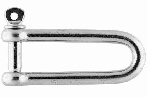 S-Haken mit Sicherung 10mm Edelstahl A4 AISI 316 90mm