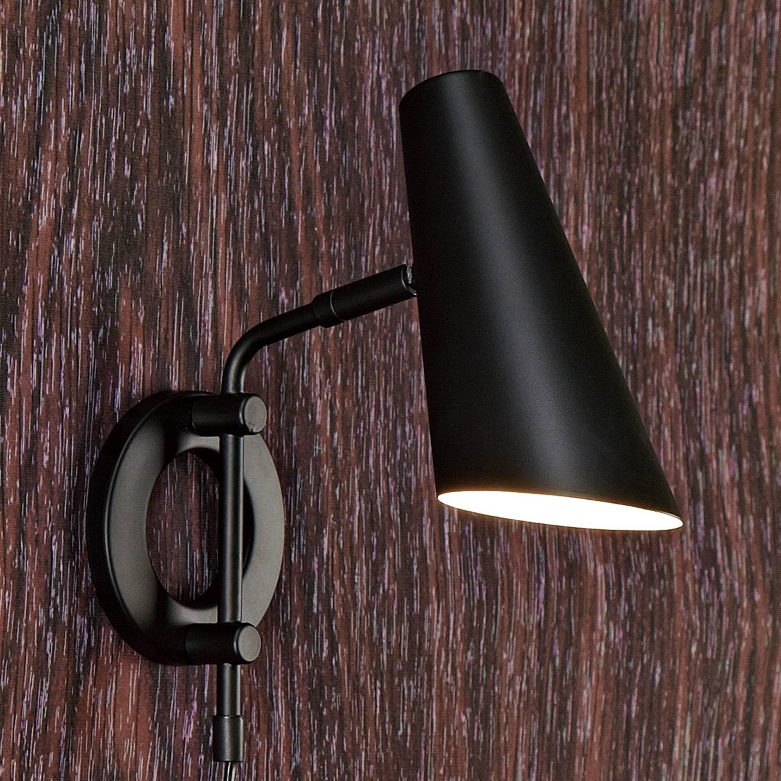 Schwarz   Wandlampen mit Schalter und weitere Wandbeleuchtung ...