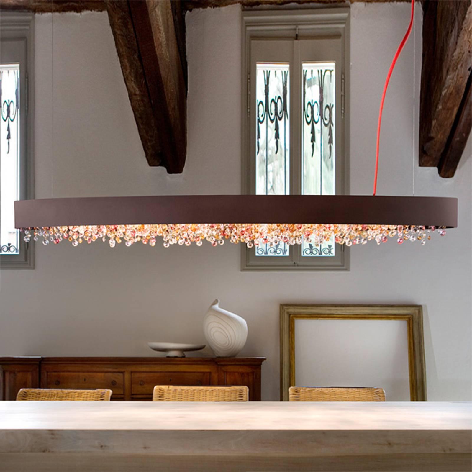 h ngelampen von masiero und andere lampen f r wohnzimmer online kaufen bei m bel garten. Black Bedroom Furniture Sets. Home Design Ideas