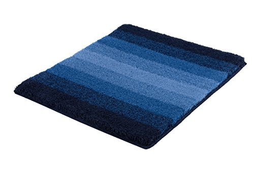 Polyester 55x65x3 cm Kleine Wolke Seattle 55 x 65 cm//Farbe Pazifik Badteppich