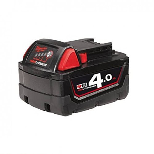 Milwaukee 0002214 Red Lithium-Ion, 4.0 Ah Akku, 18 V von Milwaukee