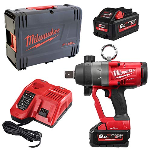 Milwaukee Schlagschrauber FUEL M18 ONEFHIWF1-802X 2x 8,0 Ah + Lader in HD-Box von Milwaukee