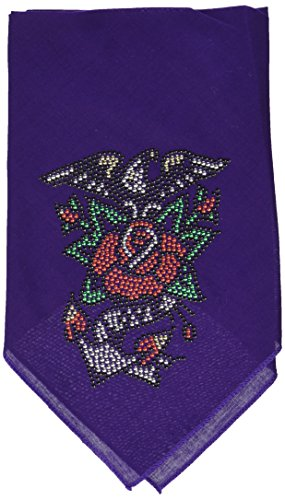Mirage Eagle Rose Strass Bandana von Mirage Pet Products