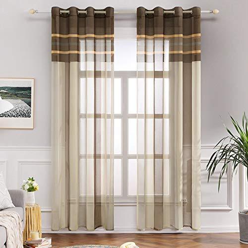 beige transparente gardinen vorh nge und weitere gardinen vorh nge g nstig online kaufen. Black Bedroom Furniture Sets. Home Design Ideas