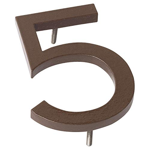 "Montague Metal Products Floating House Number Hausnummer, Sand, 24"" x 18"" x 0,38"" von Montague Metal Products"
