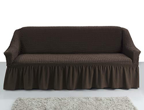 Hussen und andere wohntextilien von my palace online - Sofabezug braun ...