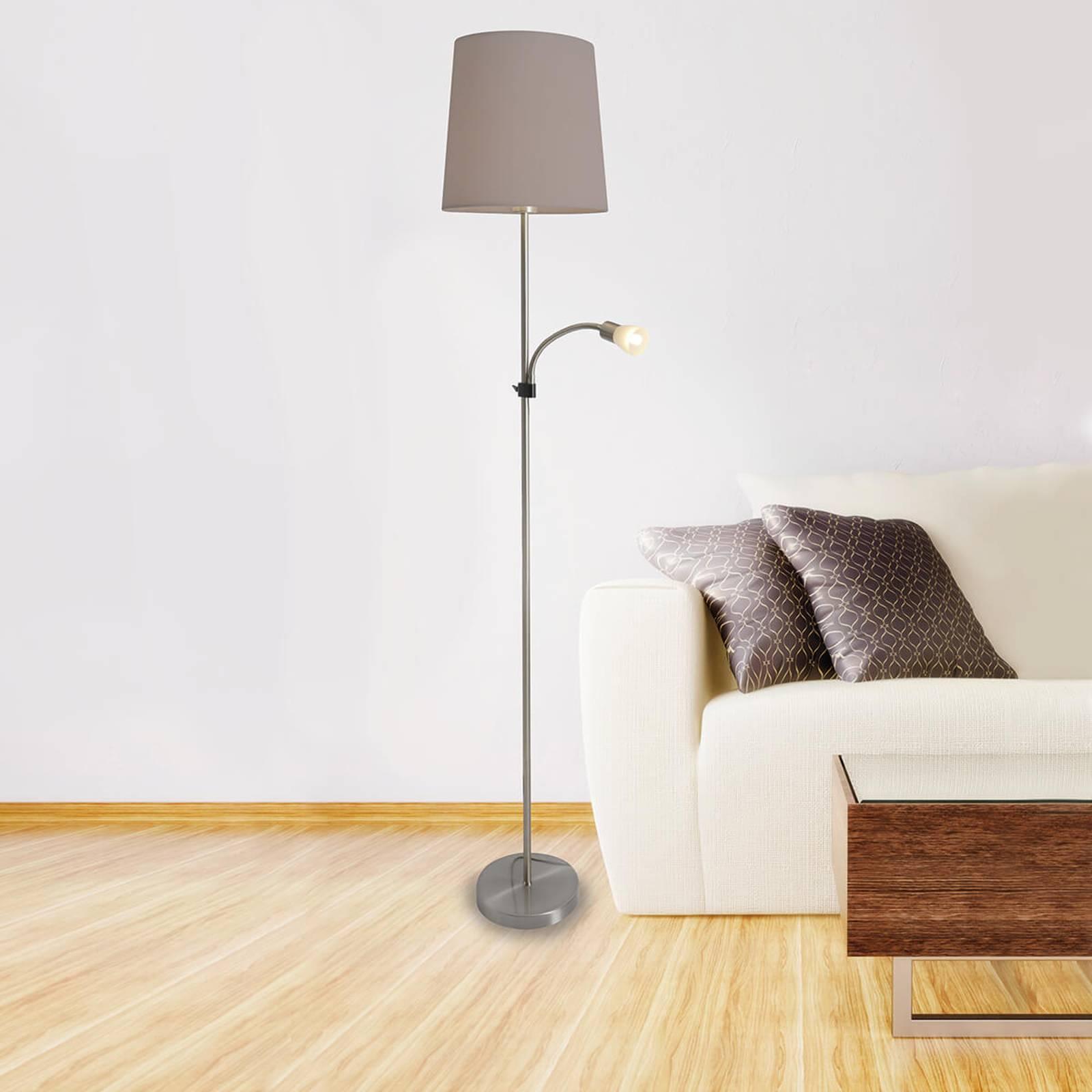 stehlampen von naeve leuchten und andere lampen f r wohnzimmer online kaufen bei m bel garten. Black Bedroom Furniture Sets. Home Design Ideas