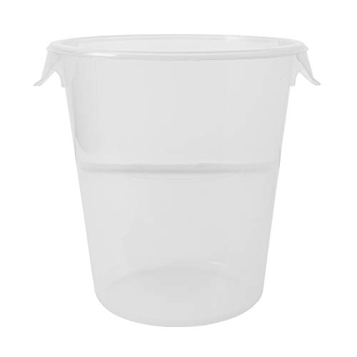 Rubbermaid Commercial Products 7.6L Round Storage Container - Clear von Newell Rubbermaid