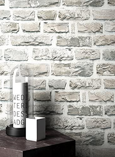 Steintapete grau schlafzimmer  Steintapete grau schlafzimmer ~ Übersicht Traum Schlafzimmer