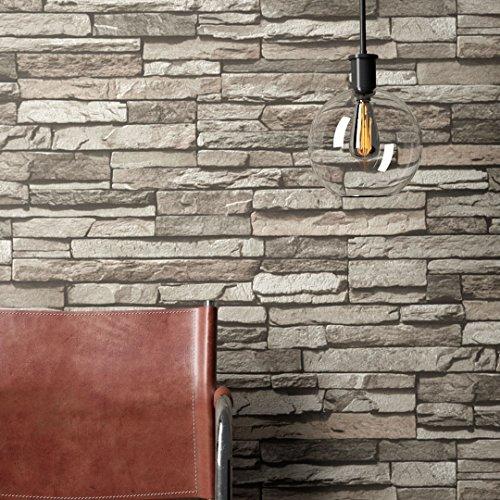 Tapeten in steinoptik und andere malern tapezieren von for Tapete schlafzimmer edel