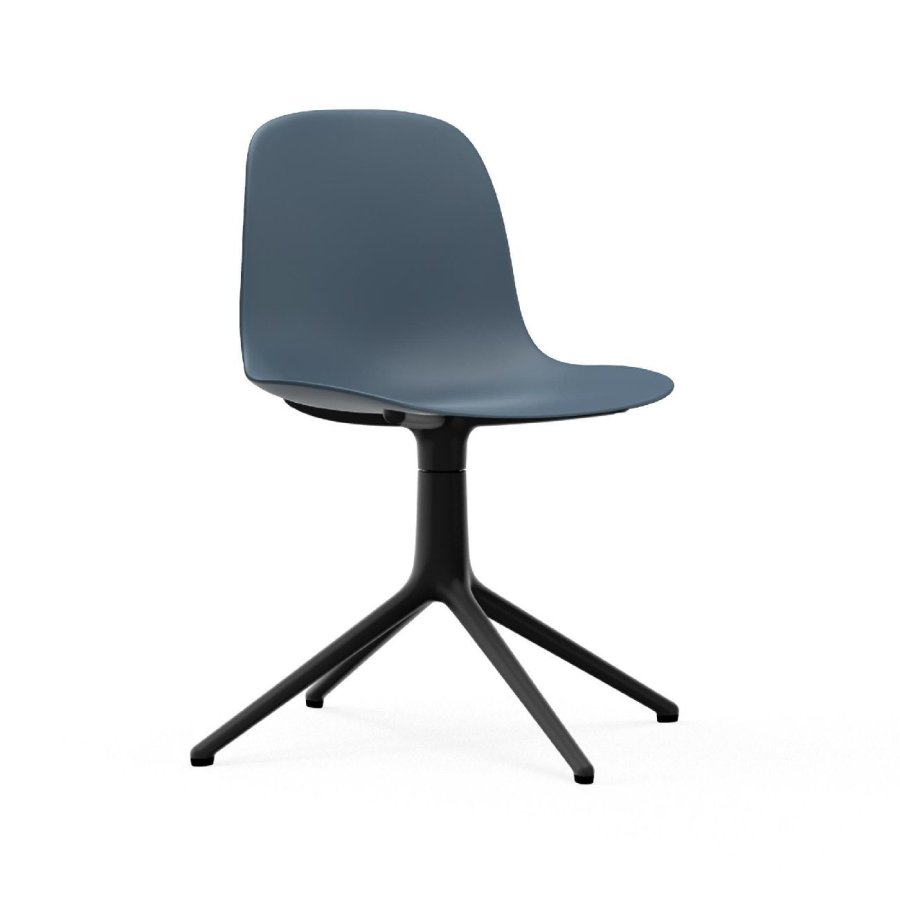 Normann Copenhagen Form Chair Black Swivel Bürostuhl von Normann Copenhagen