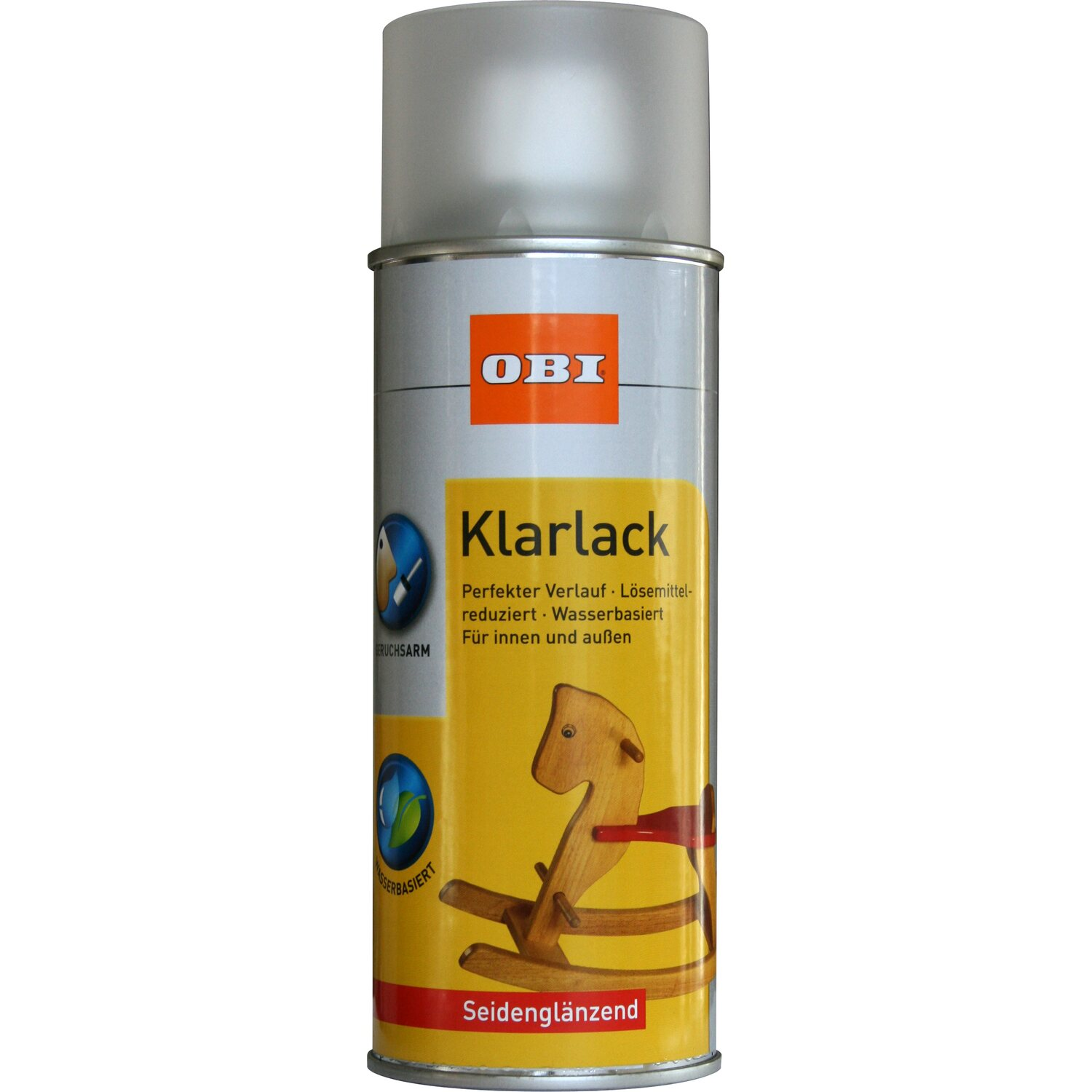 OBI Klarlack Spray Transparent seidenglänzend wv 400 ml von OBI
