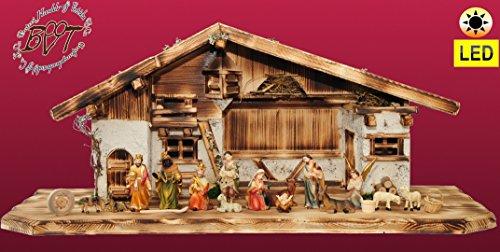Schwarz historische Laternen Laterne f/ür Batterie Weihnachtskrippen Modellbau Weihnachten Modelleisenbahn usw Betrieb 4,5 V oder LED // 4,3 V geeignet Oelbaum Krippenbeleuchtung Krippendeko