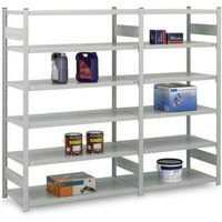 Orion Regalsysteme HKA25813AS Fachbodenregal-Anbaumodul 330kg (B x H x T) 1310 x 2500 x 835mm Stahl von ORION REGALSYSTEME