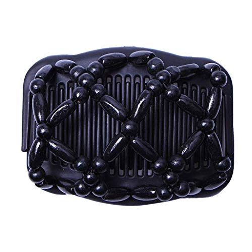 Ogquaton Magic Comb Floral Stretchy Double Frauen/Damen Haarspange Stretchy Hair Combs Clips Premium-Qualität von Ogquaton