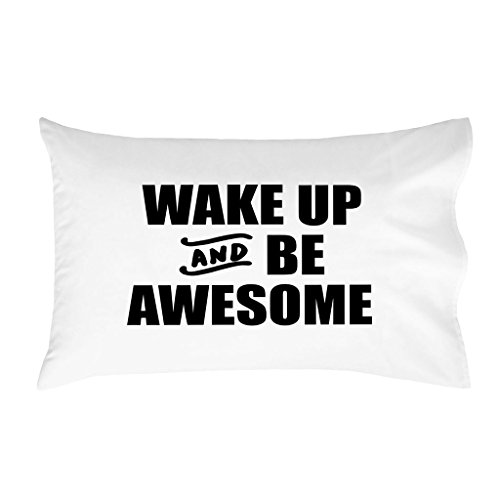Oh, SUSANNAH Wake Up And Be Awesome Bold – (1 50,8 x 76,2 cm Kissenbezüge) von Oh, Susannah
