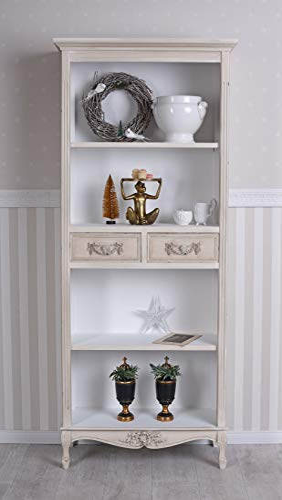 Weinschrank Landhausstil Vitrine Weinregal Holzregal Vintage Schrank mxa036 Palazzo Exklusiv