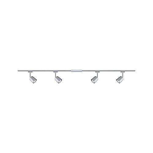 Paulmann 969.25 URail LED-Spot Cone max 15 W Schwarz matt//Chrom Metall//Kunststoff GU10
