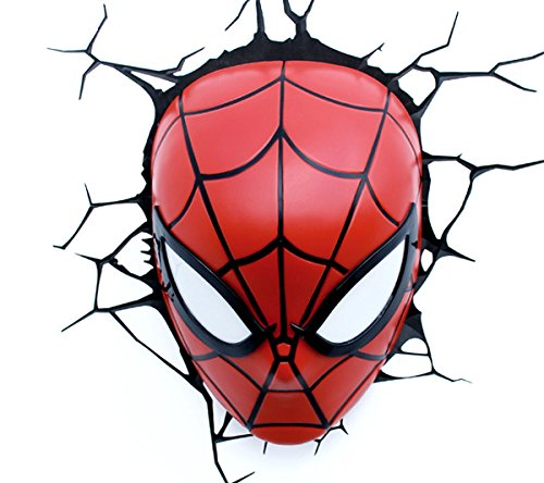 3D Spider Man Mask Light von Philips