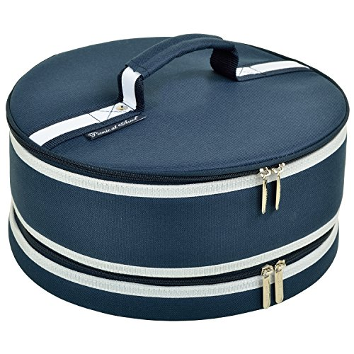 "Picnic at Ascot Original Pie and Cake Carrier 12"" Diameter- Designed & Quality Approved in the USA von Picnic at Ascot"