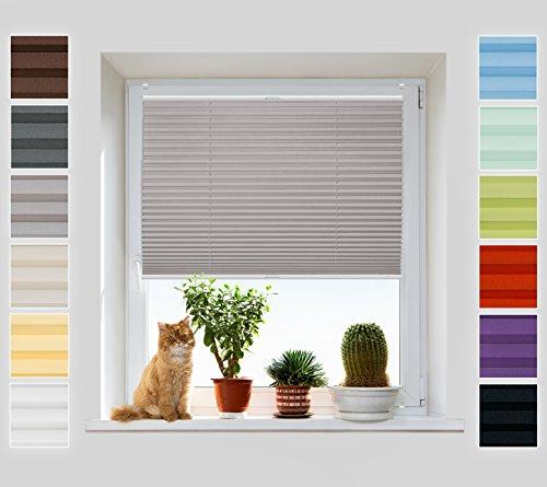 rollos plissees ohne bohren und andere rollos von. Black Bedroom Furniture Sets. Home Design Ideas
