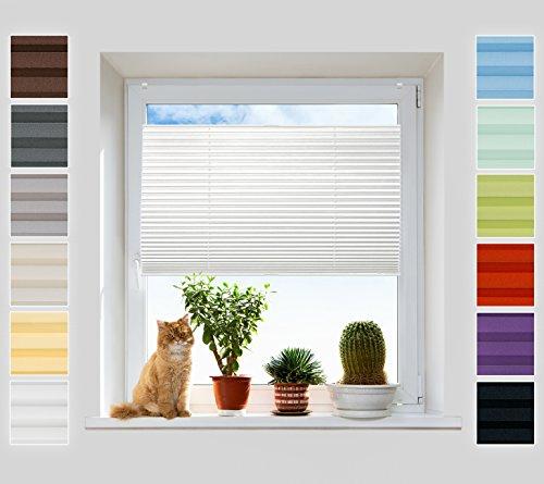 plissee 45 top plissee klemmfix ohne bohren fr sonnen und sichtschutz inkl easyfix jalousie. Black Bedroom Furniture Sets. Home Design Ideas