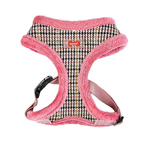 Puppia 66987757 Auden Harness A, Indian Pink, XL von Puppia