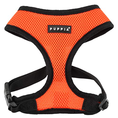 Puppia PDCF-AC30 Hundegeschirr Soft, XL, orange von Puppia