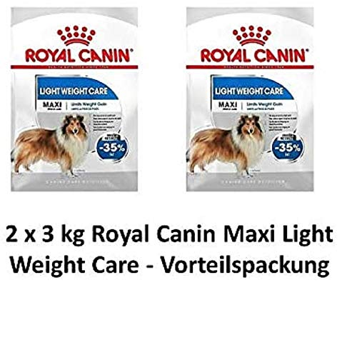 ROYAL CANIN Maxi Light Weight Care | 2 x 3kg Hundefutter Vorteilspack von ROYAL CANIN