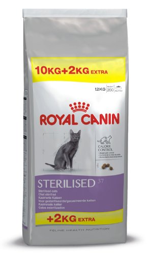 Royal Canin Feline Sterilised 37, 1er Pack (1 x 12 kg Packung) von ROYAL CANIN