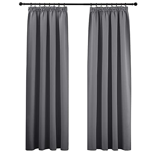 grau blickdichte vorh nge und weitere gardinen vorh nge g nstig online kaufen bei m bel. Black Bedroom Furniture Sets. Home Design Ideas