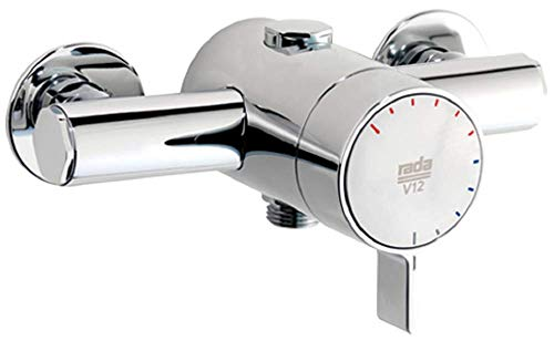 Rada 1.1651.001 V12 Exposed Shower Valve Brausebatterie, chrome von Rada
