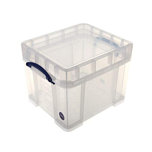 Really Useful Plastic Storage Box 35 Litre Xl - Color: Clear by Really Useful von Really Useful