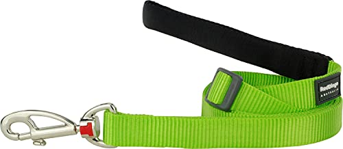 Red Dingo Classic Dog Lead, Large, Lime Green von Red Dingo