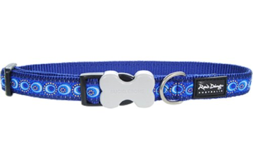 Red Dingo Designer Dog Collar, Large, Cosmos Dark Blue von Red Dingo