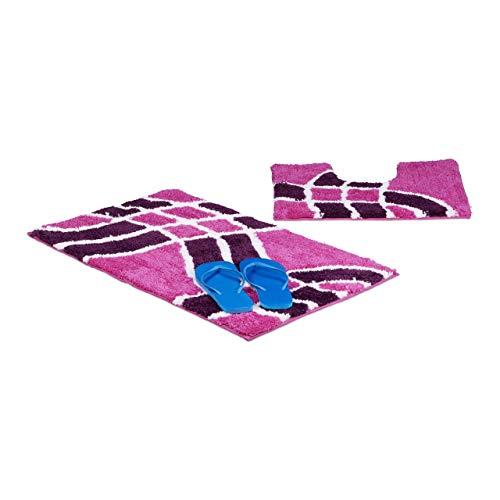 lila wc vorleger und weitere badtextilien g nstig online kaufen bei m bel garten. Black Bedroom Furniture Sets. Home Design Ideas