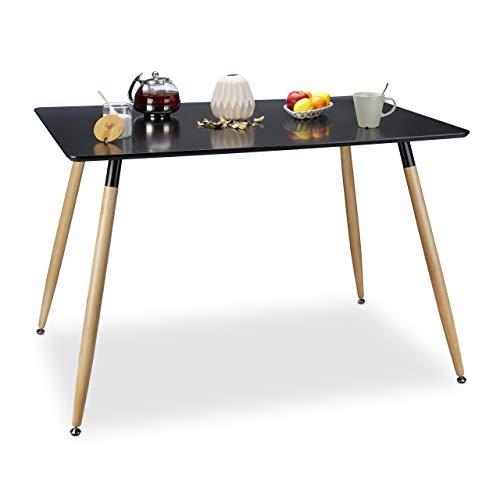 esstische von relaxdays und andere tische f r esszimmer online kaufen bei m bel garten. Black Bedroom Furniture Sets. Home Design Ideas