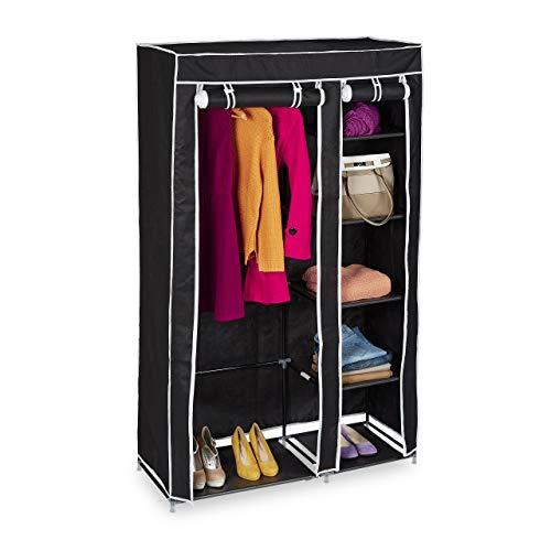 stoffschr nke und andere schr nke von relaxdays online kaufen bei m bel garten. Black Bedroom Furniture Sets. Home Design Ideas