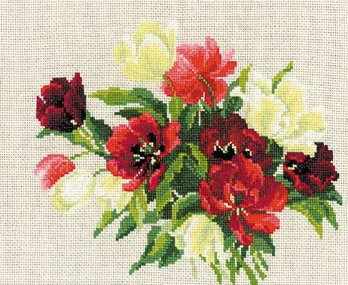 Riolis Metric f/ür M/ädchen Kreuzstichpackung Baumwolle 18 x 24 x 0,1 cm Mehrfarbig